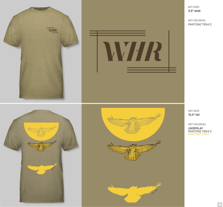 WHR t-shirts claire taylor
